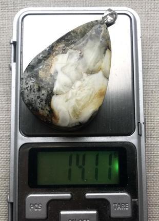Натуральный янтарь. серебро 925 пр. большой кулон.4 фото
