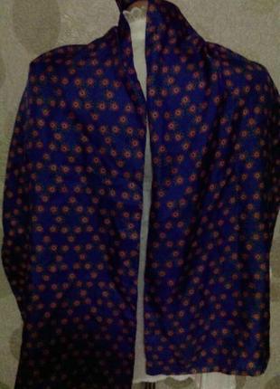 Шелковый шарф  платок  оригинал