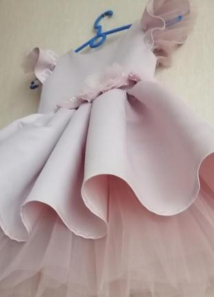 Нарядное выпускное платье!2 фото