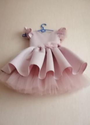 Нарядное выпускное платье!3 фото