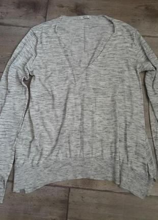 Супер стильный свитер джемпер zara knit. оригинал