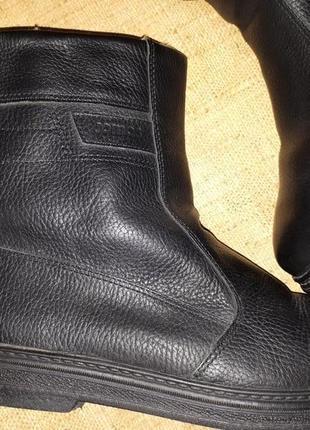 47р-30 см на овчине кожа сапоги jomos made in germany