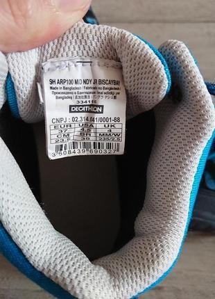 Ботинки деми декателон кечуа decathlon quechua 37 р 24 см7 фото