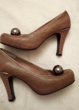 By malene birger: кожаные туфли из дании