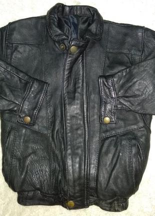Детская кожаная курточка