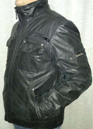 Мужская bench кожаная курточка