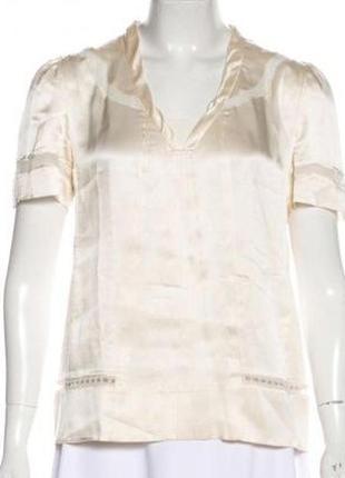Блуза marc jacobs , оригинал, 100% шелк