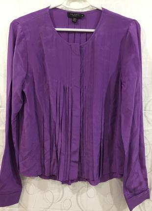 Шелковая блуза ted baker