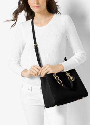 Сумка michael michael kors cynthia saffiano leather оригинал