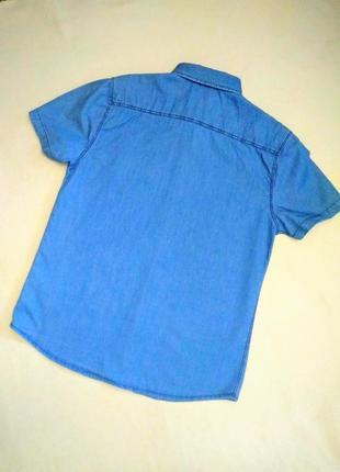 Оригинальная джинсовая рубашка.2 фото