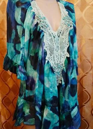 Блуза, туника, можно на пляж;)
