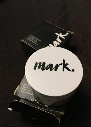 Минеральная рассыпчатая пудра для лица avon mark mineral powder spf 15