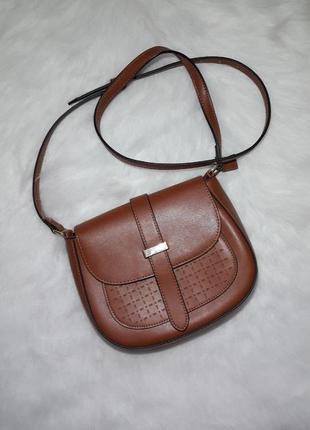 Фирменная сумка через плечо tchibo