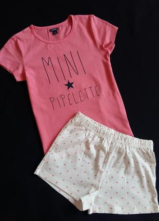 Пижама/комплект для дома kiabi (франция) на 4-5 лет (размер 108-113)