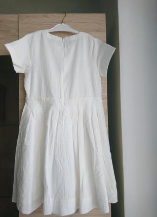 Стильное белое платье canada house❤️2 фото
