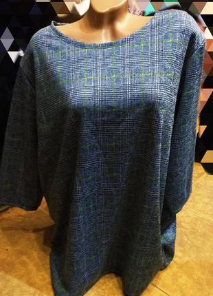 Роскошная блузка батал