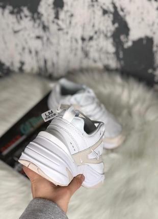 Nike m2k tekno white женские кроссовки наложенный платёж купить кросівки2 фото