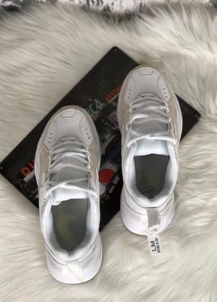 Nike m2k tekno white женские кроссовки наложенный платёж купить кросівки5 фото