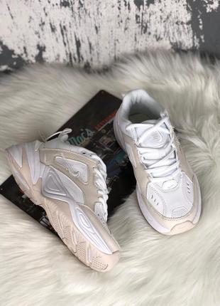 Nike m2k tekno white женские кроссовки наложенный платёж купить кросівки4 фото
