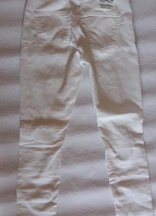 Білі  літні джинси cheap monday6 фото