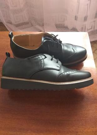 Женские туфли броги1 фото