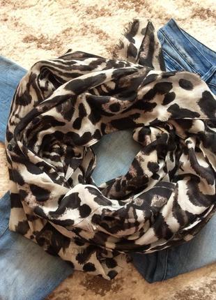 Фирменный яркий шарф ellen amber accessorize,обьемный шарфик+подарок