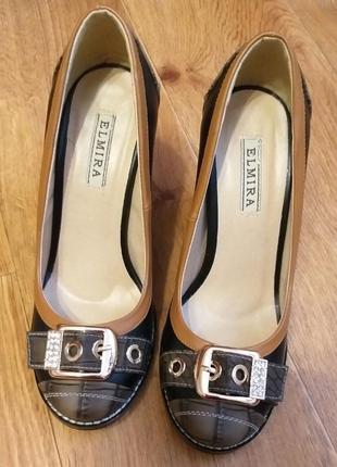 Туфли 36 размер на высоком каблуке