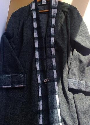 Отличное легкое пальто кардиган на весну