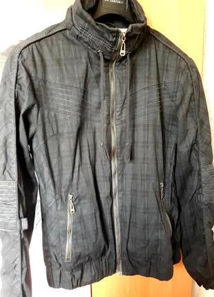 Курточка, ветровка в клетку