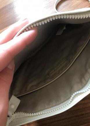 Белая сумка лакоста lacoste6 фото