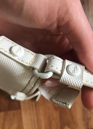 Белая сумка лакоста lacoste9