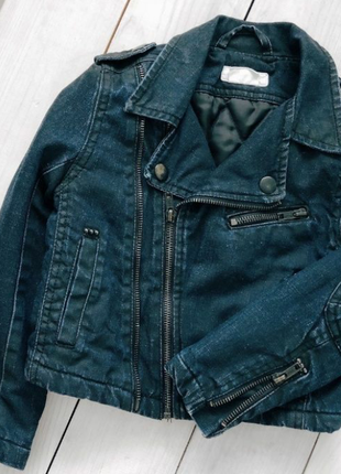 Косуха.джинсовка.байкерская куртка h&m