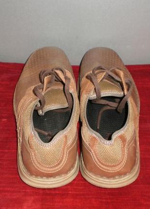 Кожаные мужские туфли columbia (коламбия) 47р. стелька 31см.2