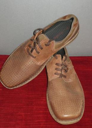 Кожаные мужские туфли columbia (коламбия) 47р. стелька 31см.1