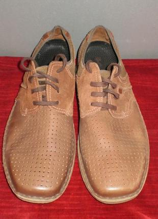 Кожаные мужские туфли columbia (коламбия) 47р. стелька 31см.7