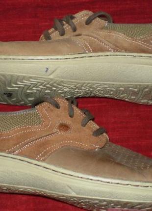 Кожаные мужские туфли columbia (коламбия) 47р. стелька 31см.6