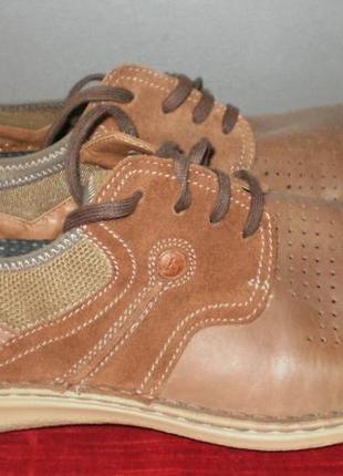 Кожаные мужские туфли columbia (коламбия) 47р. стелька 31см.4
