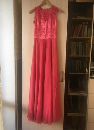 Шикарное выпускное платье4 фото