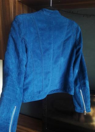 Замшевая курточка, бомбер amisu3