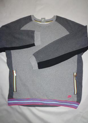 Nike мужская толстовка с карманами оригинал