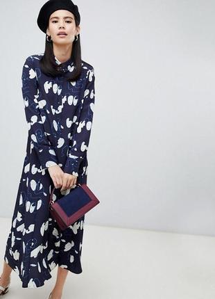 Платье макси monki