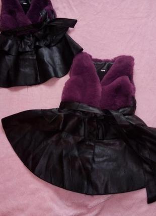 Продам новые шикарные жилетки_платья для модниц