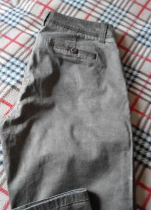 Брючки в стиле чинос в винтажном стиле от тсм (германия), размер 40 евро5 фото