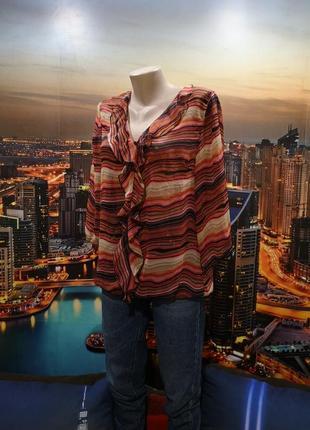 Милая блуза с рюшами