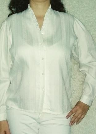 Котоновая рубашка 18р