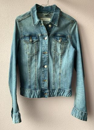 Джинсовая коротка куртка h&m, размер s/m