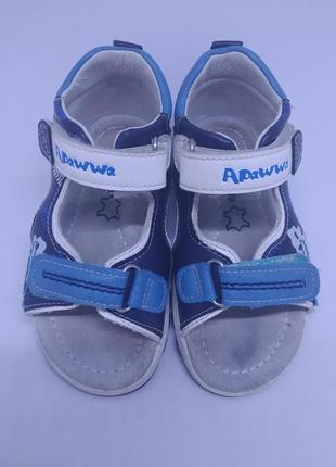 Кожаные сандалии apawwa 24р.