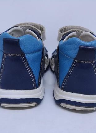 Кожаные сандалии apawwa 24р.2 фото