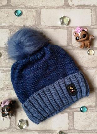 Детская шапочка вязаная, ambra (польша), 50-52