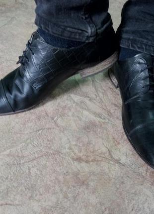 Винтажные туфли vero cuoio